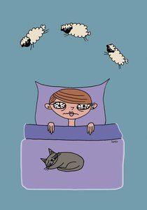 slapeloosheid afbeelding