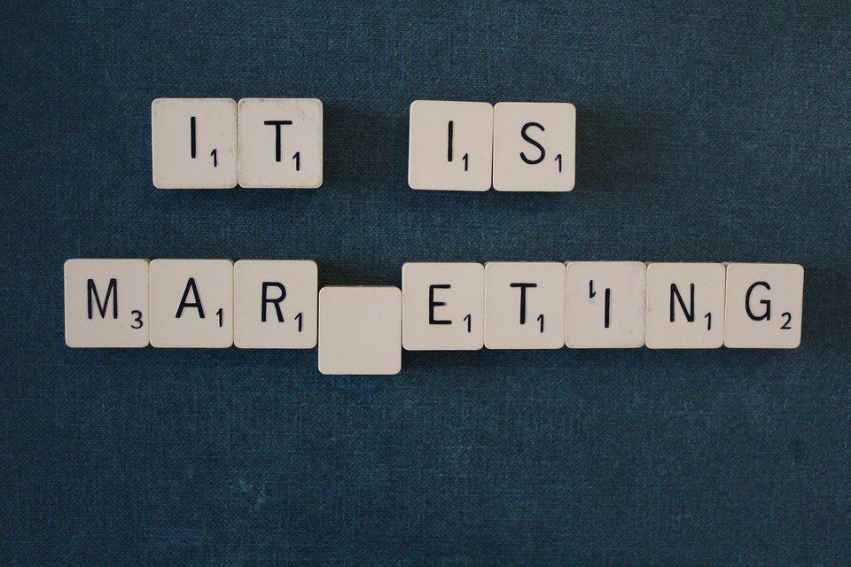 It is marketing afbeelding