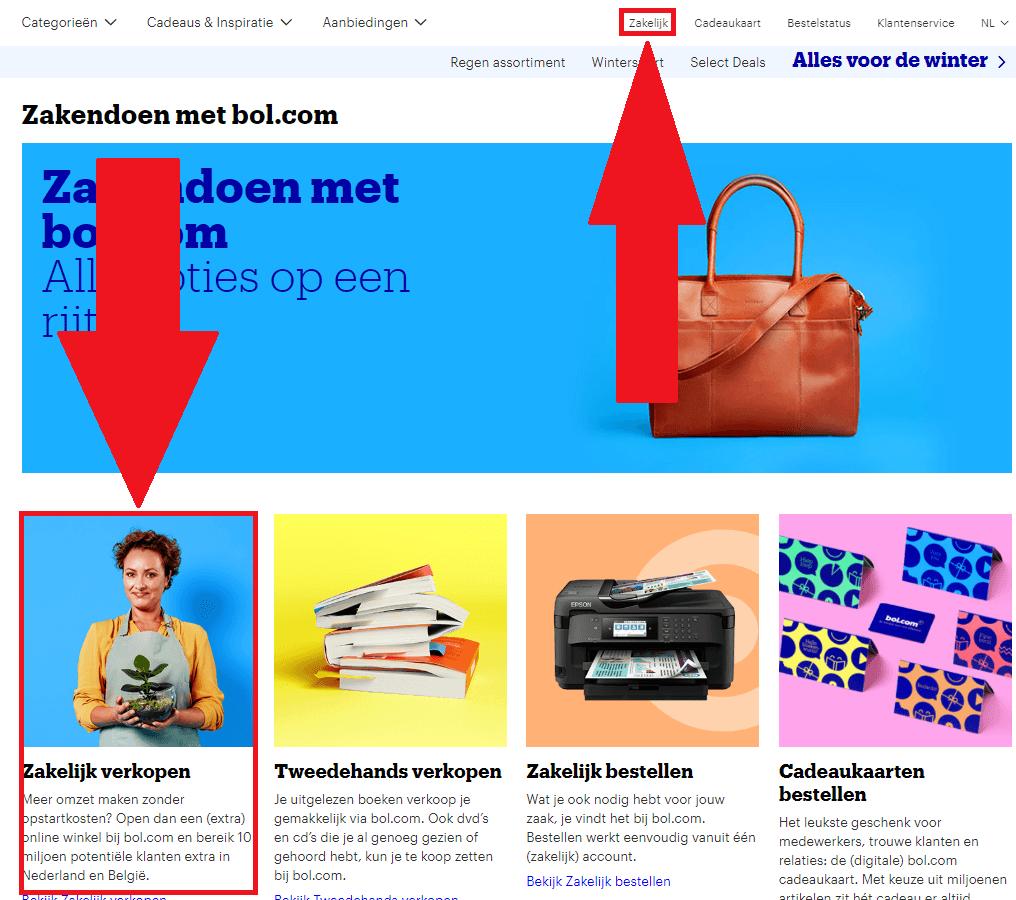 Stap #2: Verkoopaccount Aanmaken Bol.com