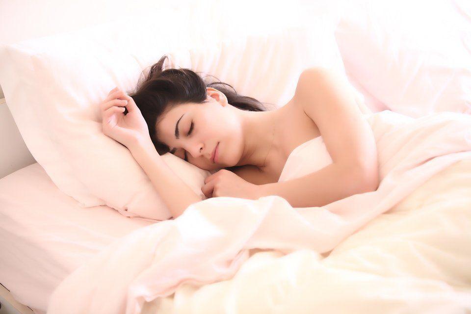 slapende-vrouw