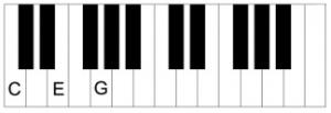 Piano-C-akkoord-