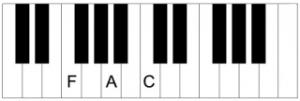 Piano-F-akkoord